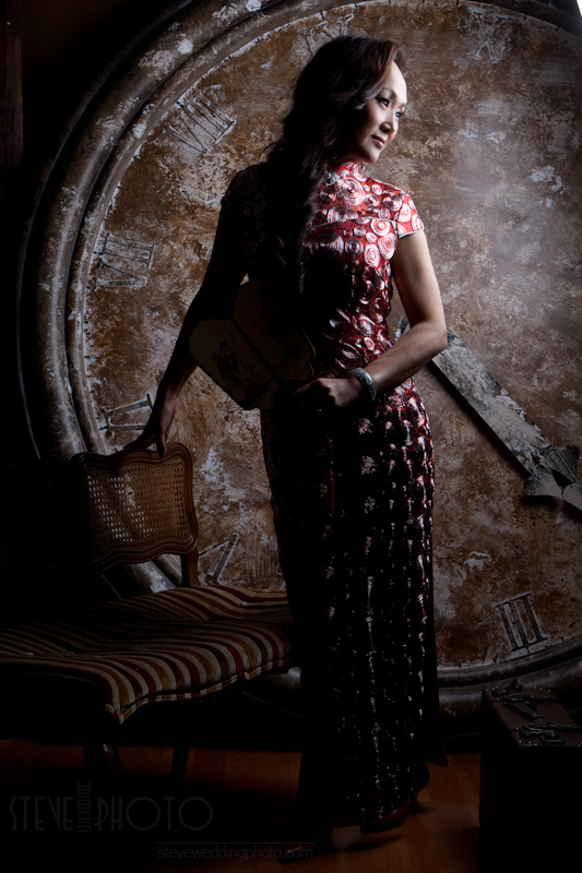 Portrait , Studio Photo, Qipao, Cheongsam, SteveWeddingPhoto_MG_2724