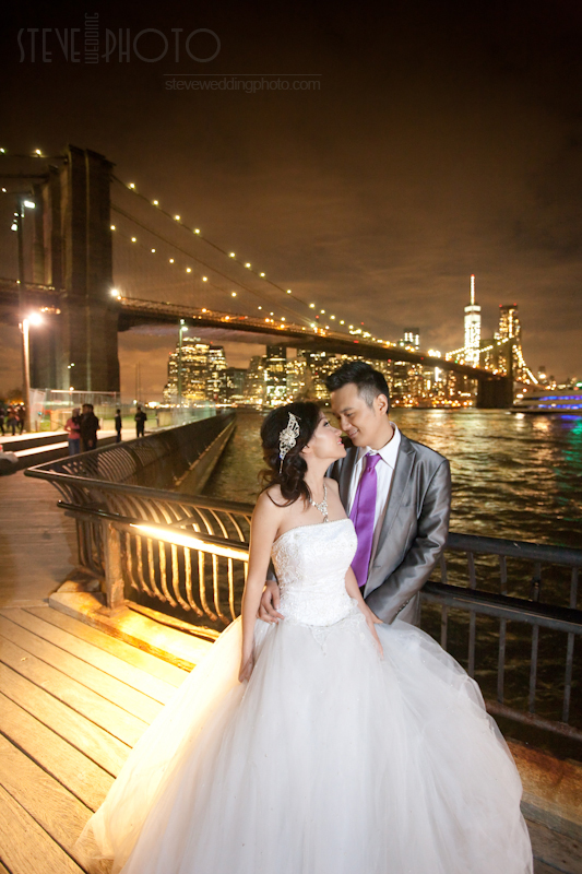 New York City, Dumbo Brooklyn, Pre-Wedding Engagement Photo, Wedding Photo, SteveWeddingPhoto_MG_5149