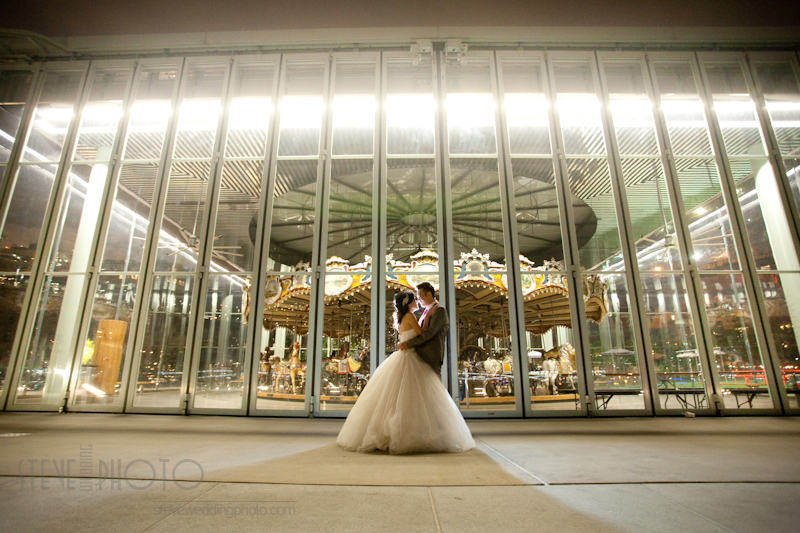 New York City, Dumbo Brooklyn, Brooklyn Bridge Park Carousel, Pre-Wedding Engagement Photo, Wedding Photo, SteveWeddingPhoto_MG_5205