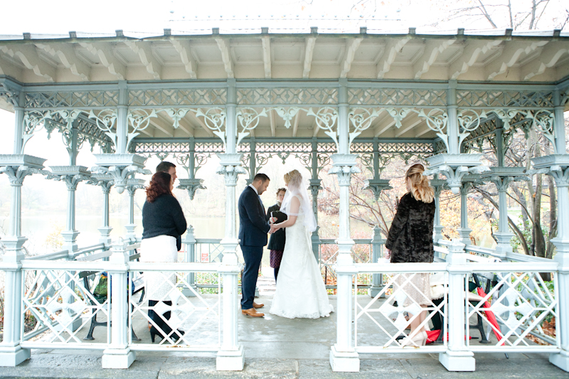 New York City, Central Park, Lady Pavilion, Elopement, Wedding Photo