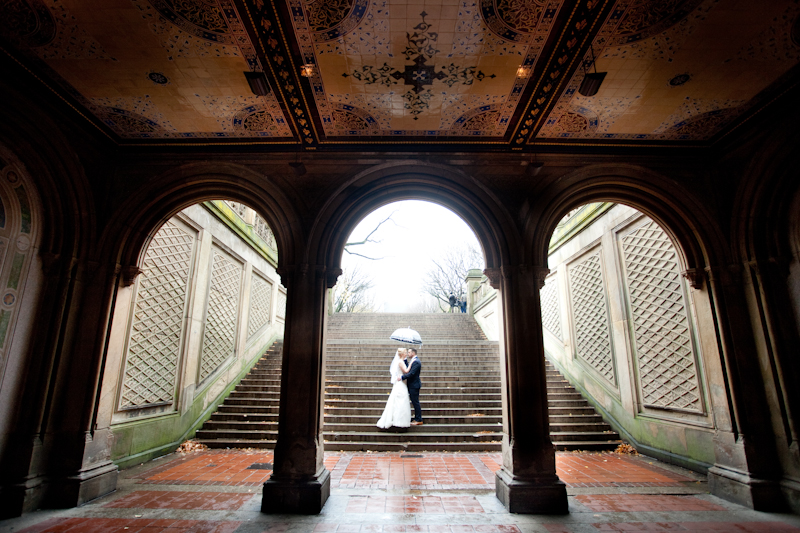 New York City, Central Park, Bethesda Terrace Arcade, Elopement, Wedding Photo