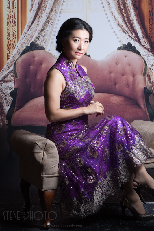 Portrait , Studio Photo, Qipao, Cheongsam, SteveWeddingPhoto__MG_4822