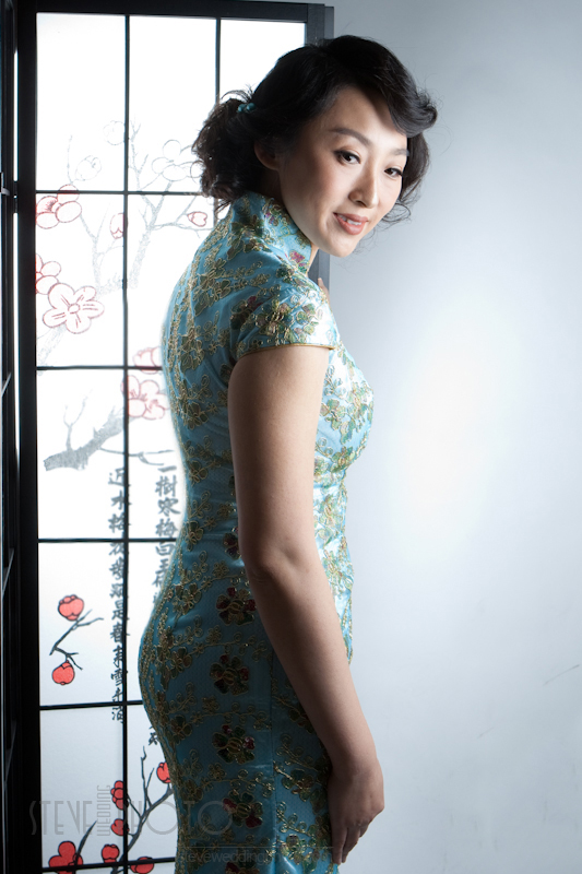 Portrait , Studio Photo, Qipao, Cheongsam, SteveWeddingPhoto__MG_4920