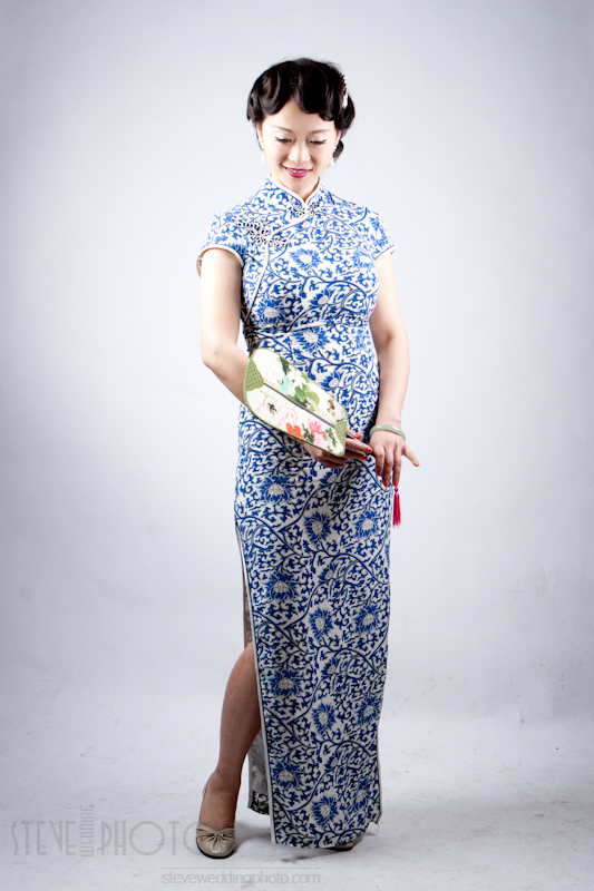 Portrait , Studio Photo, Qipao, Cheongsam, SteveWeddingPhoto__MG_5092