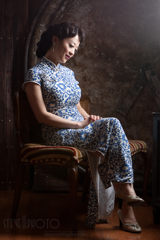 Portrait , Studio Photo, Qipao, Cheongsam, SteveWeddingPhoto__MG_5116