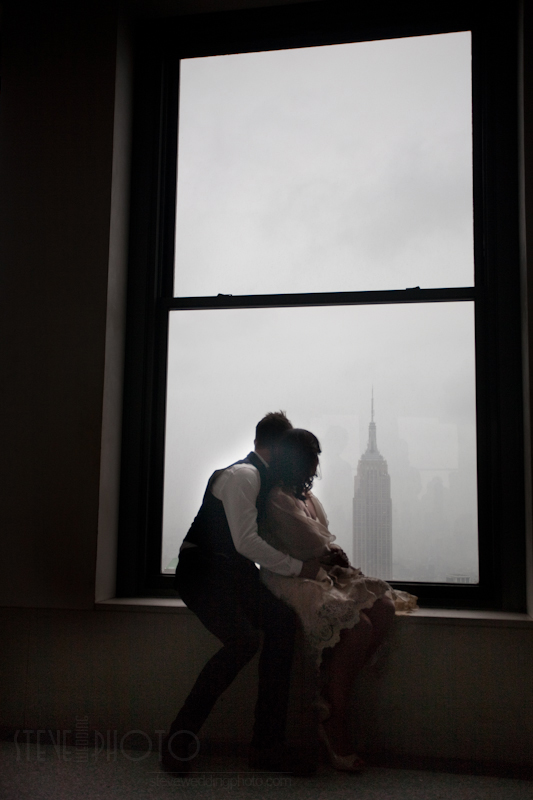 New York City Elopement, Rockefeller Center, Top Of The Rock – Rockefeller Center, Elopement, Wedding Photo