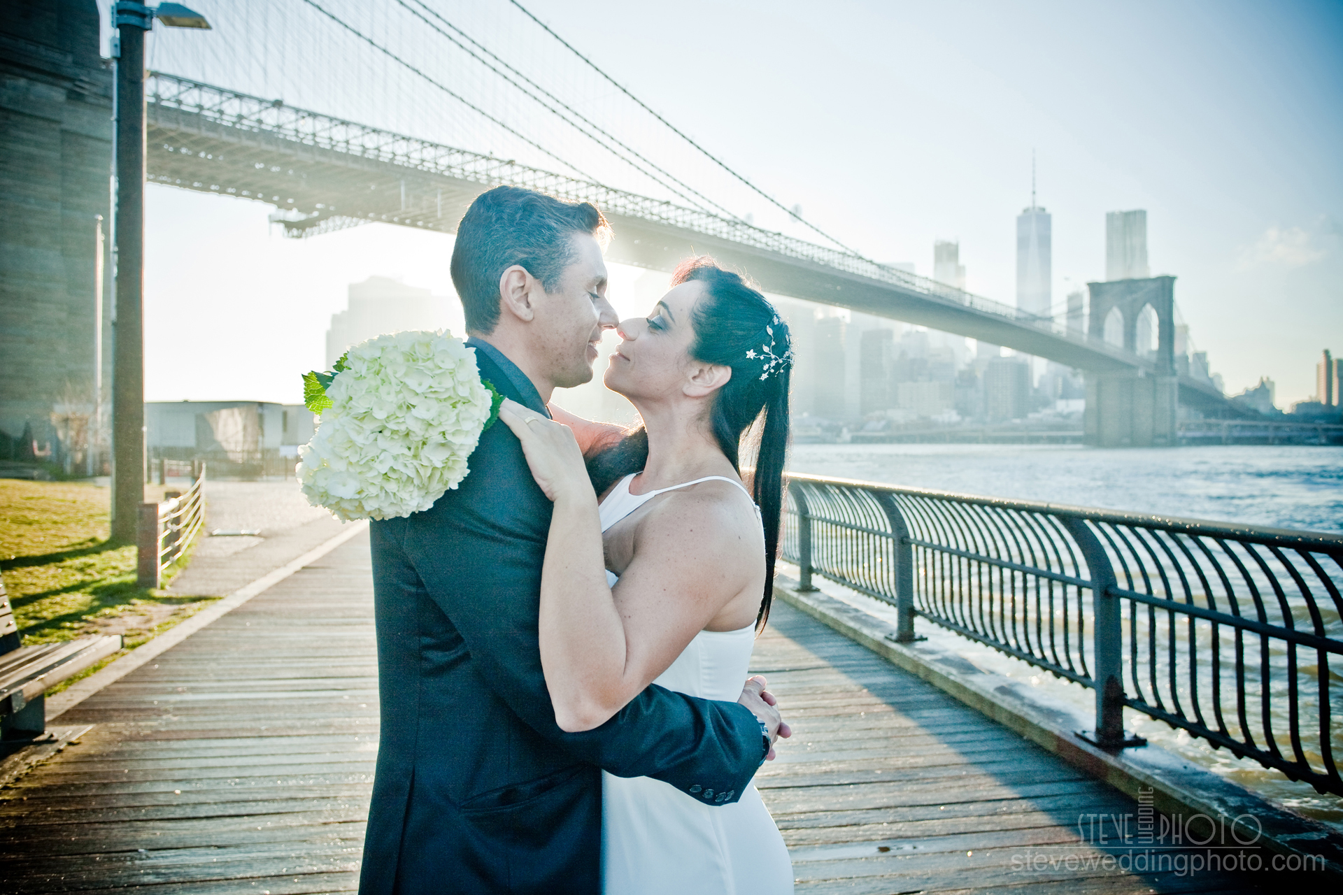 New York City Elopement. New York City, Dumbo Brooklyn, Brooklyn Bridge Park, Wedding Photo, Elopement Photo. steveweddingphoto.com -_MG_4358